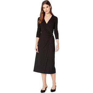 Paige NWT Cedar Wrap Dress Black Small